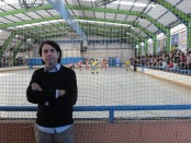 Albert Figueras, president del Club d'Hoquei Ripollet / Sergi Bayó