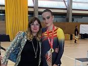 Patinatge Claudia Aguado i Janet Ruiz