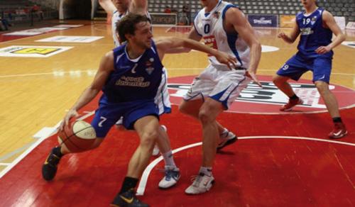 Roger Vilanova jugant en el CB Prat // CB Prat