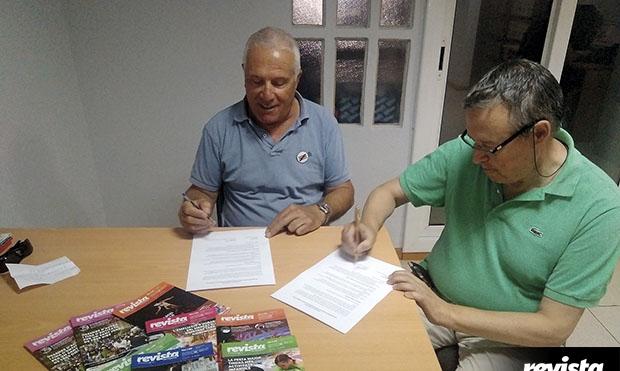 Signatura acord AETMV