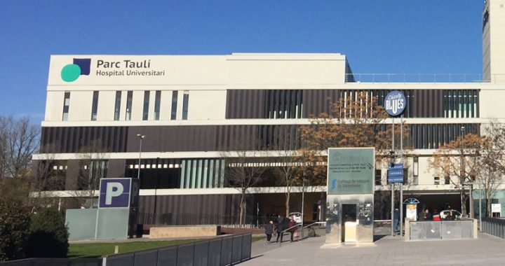 Façana de l'hospital Taulí
