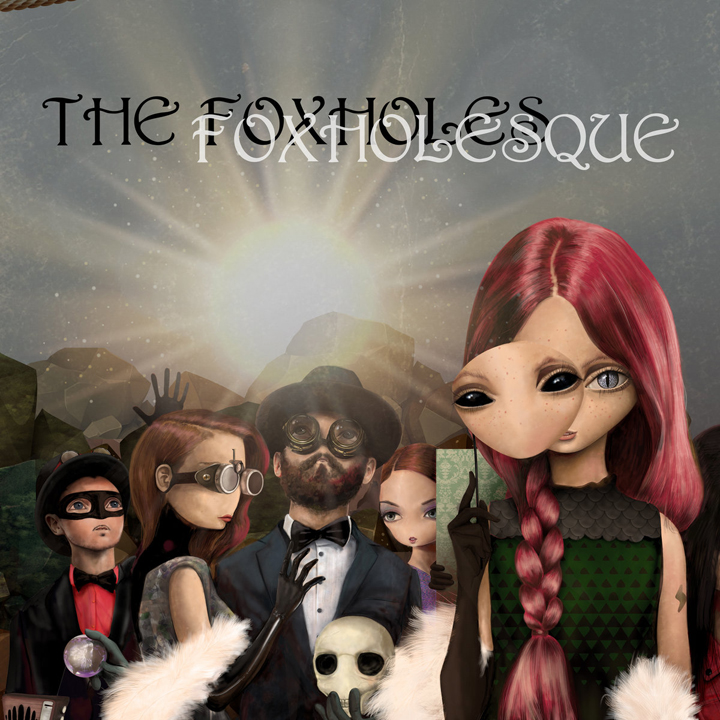 1105_The Foxholes - Foxholesque (2020)