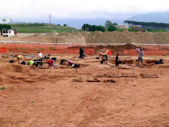 Excavacions Jaciment Pinetons