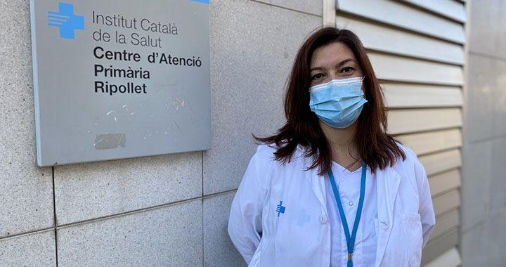 Rosmery Parra, infermera CAP Ripollet