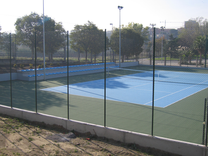 pistes tennis poliesportiu