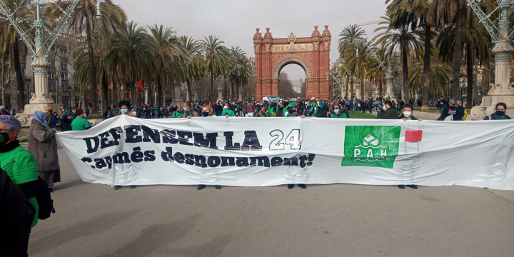Manifestació PAH