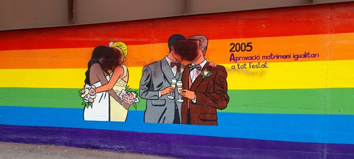 Mural LGTBI