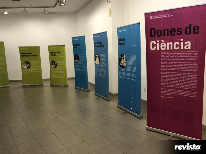 Exposició Dones i Ciència