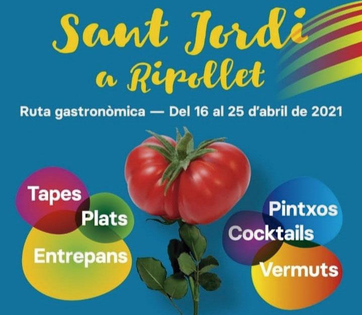 Ruta gastronomica Sant Jordi